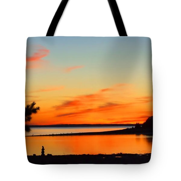 Sunset Serenity Tote Bag