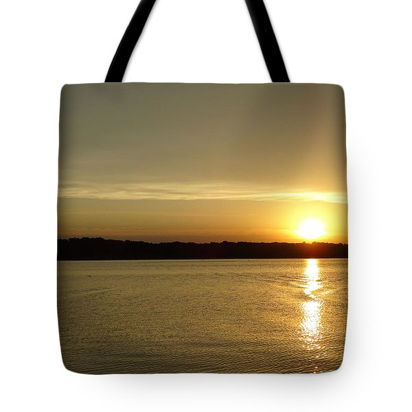 Sunset Shelbyville Il Tote Bag