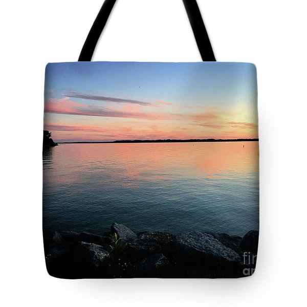 Sunset Sky Tote Bag