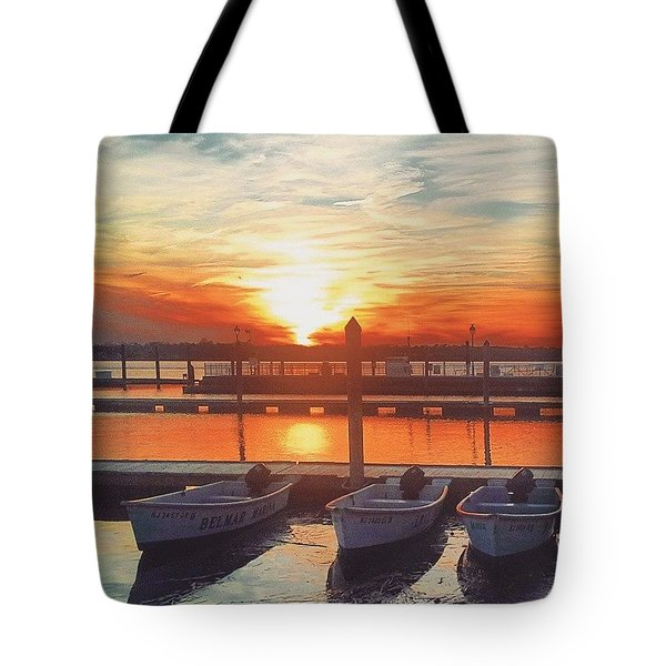 Sunset So Sweet Tote Bag by Lauren Fitzpatrick
