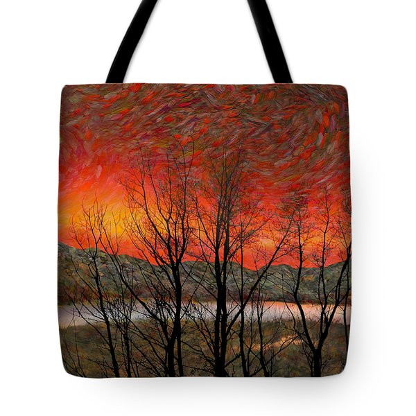 Sunset Soliloquy Tote Bag by Ed Hall