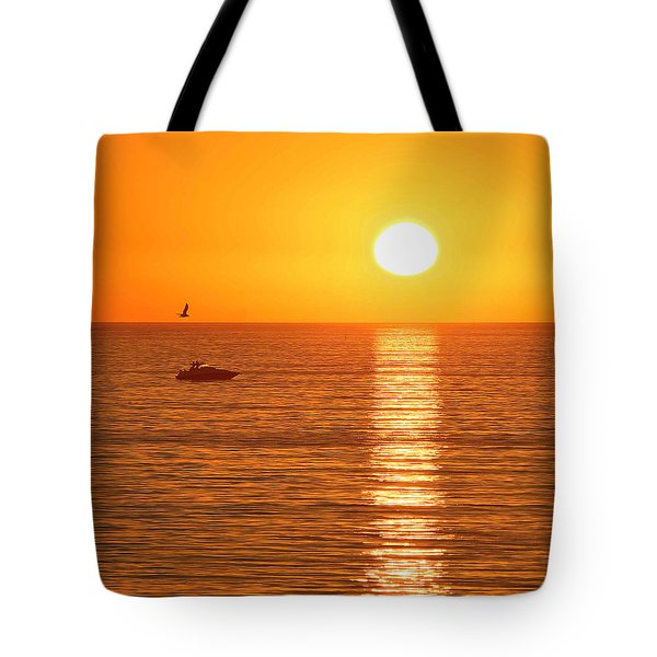 Sunset Solitude Tote Bag