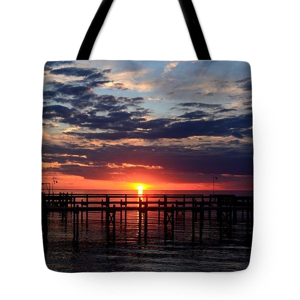 Sunset - South Carolina Tote Bag