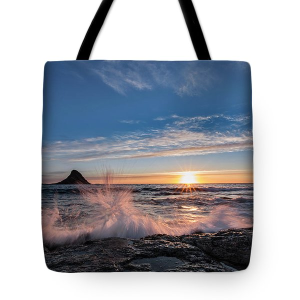 Sunset Splash II Tote Bag