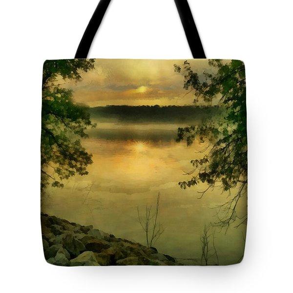 Sunset Splendor Tote Bag by RC deWinter
