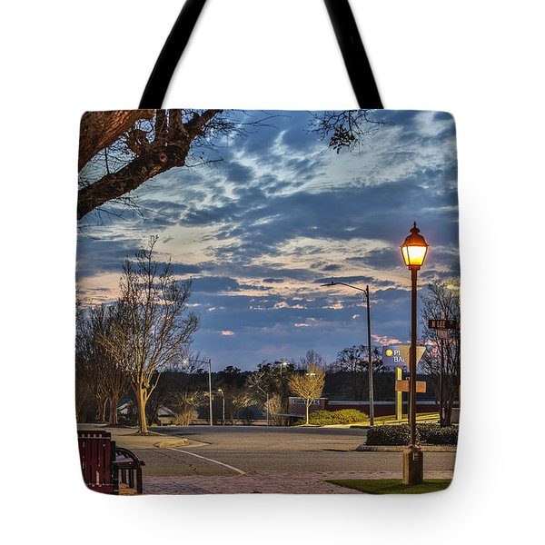 Sunset Square Tote Bag