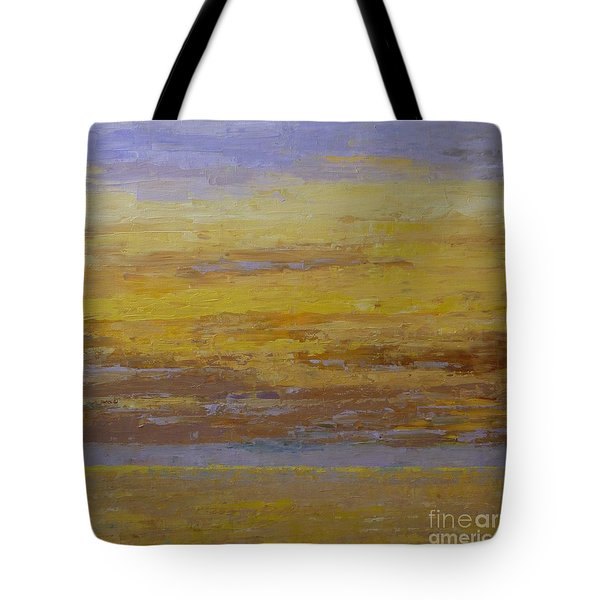 Sunset Storm Clouds Tote Bag