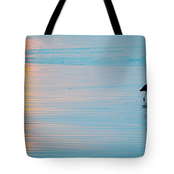 Sunset Stroll Tote Bag by AJ  Schibig