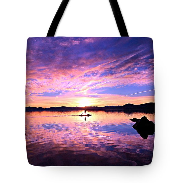 Sunset Supper Tote Bag by Sean Sarsfield