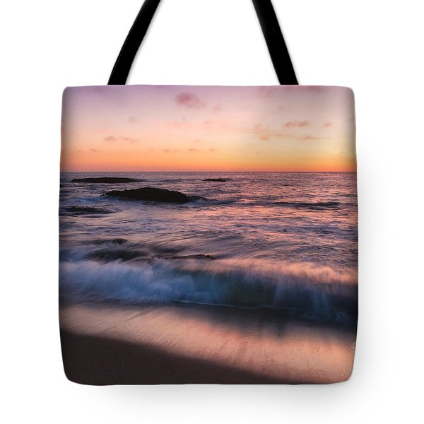 Sunset Surf Tote Bag