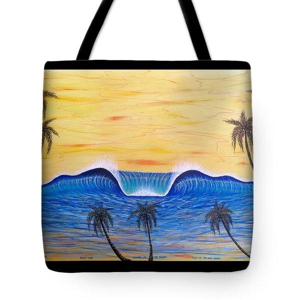 Sunset Surf Dream Tote Bag