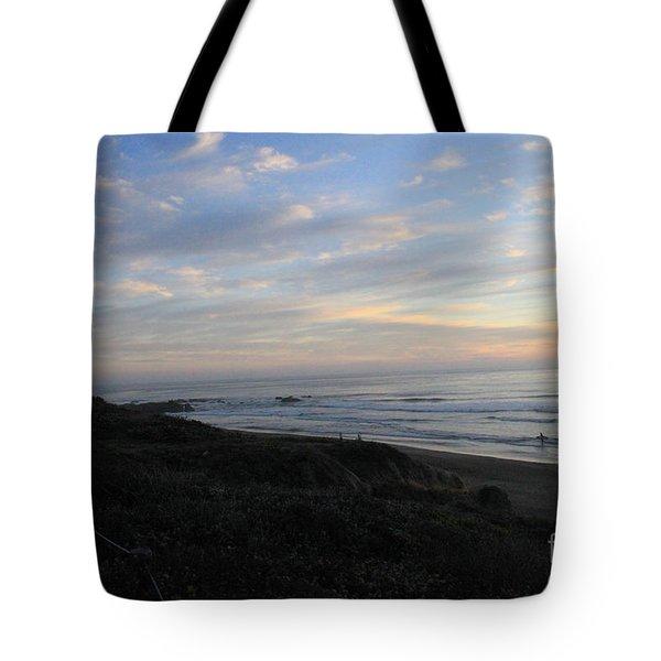 Sunset Surf Tote Bag