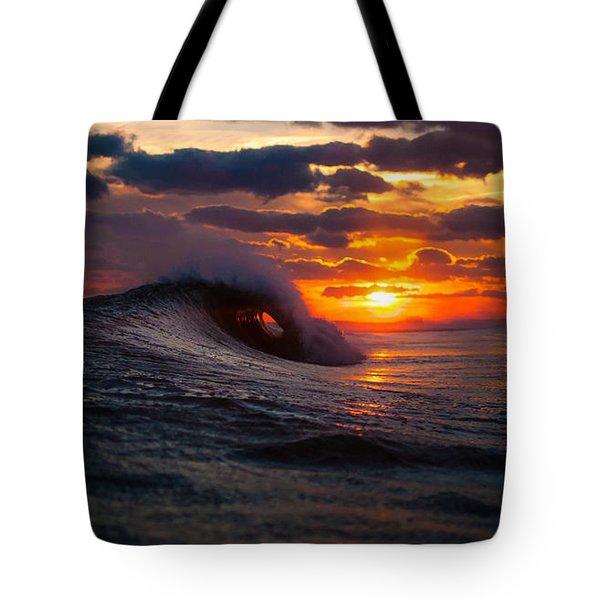 Sunset Surf Sesh Tote Bag