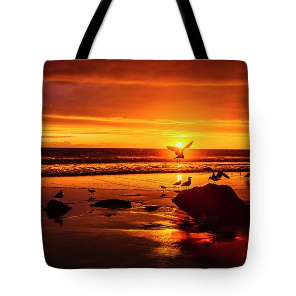 Sunset Surprise Tote Bag