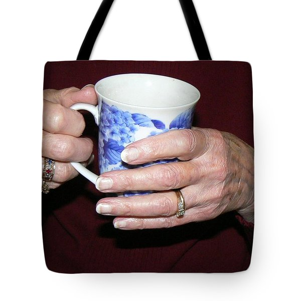 Sunset Tea Tote Bag by Pamela Patch