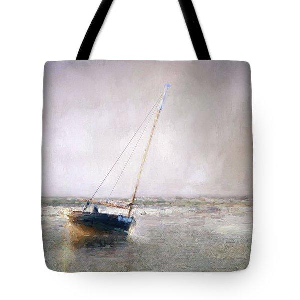 Sunset Tide Tote Bag