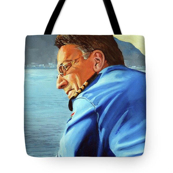 Sunset Tote Bag by Tim Johnson