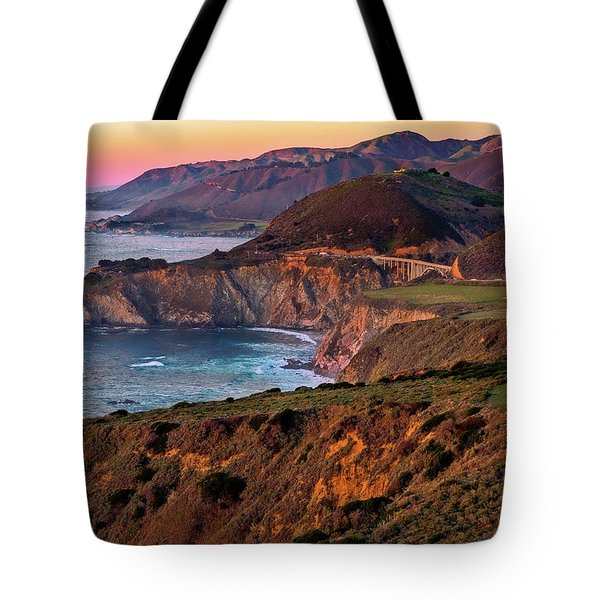 Sunset View From Hurricane Point Tote Bag