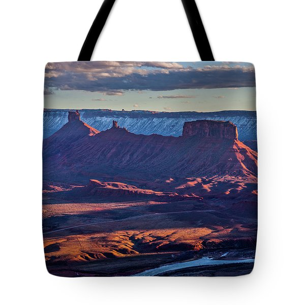 Sunset View From Omg Point Tote Bag