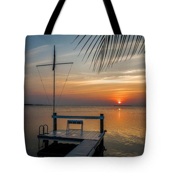 Sunset Villa Tote Bag