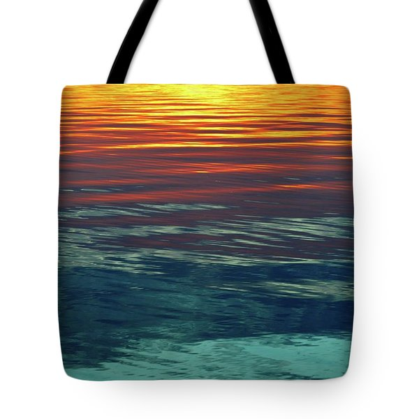 Sunset Water  Tote Bag