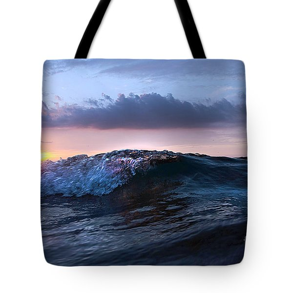 Sunset Wave-wards Beach Tote Bag