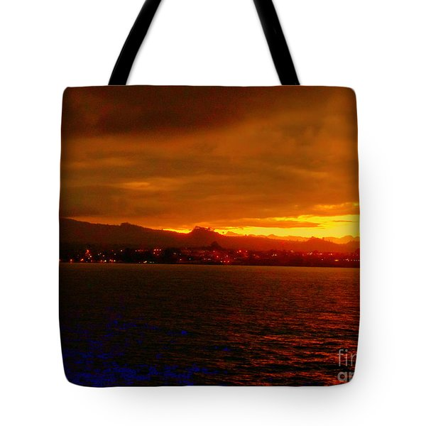 Sunset West Africa Tote Bag