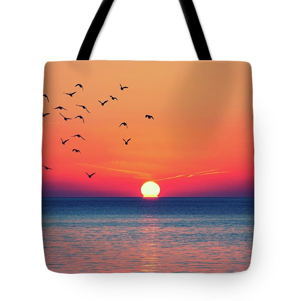 Sunset Wishes Tote Bag