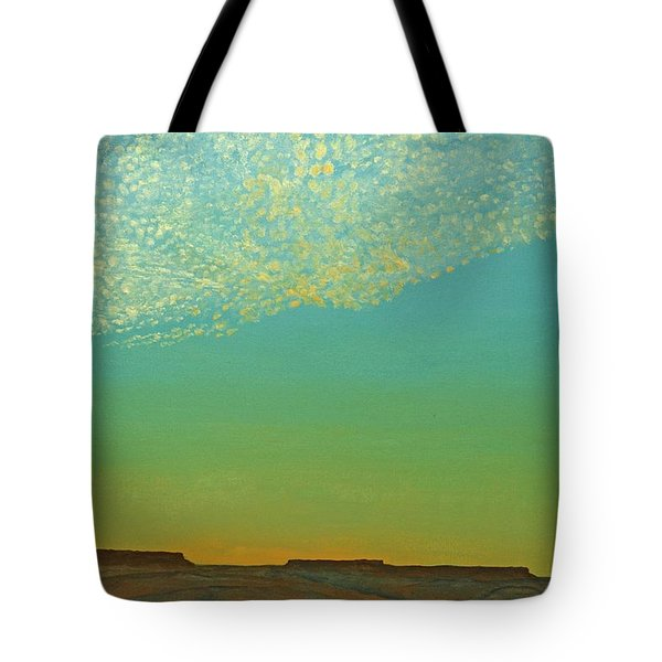 Sunset With Alto Cumulous Tote Bag