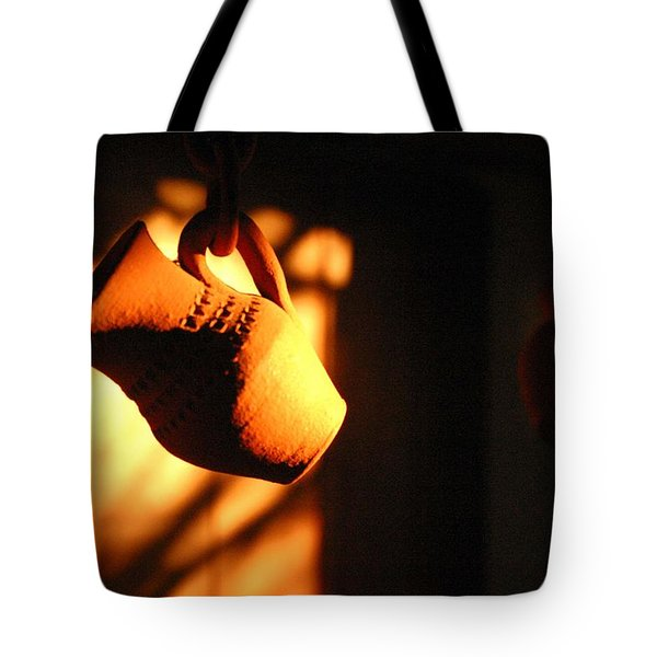 Sunset With Clay Jug Tote Bag