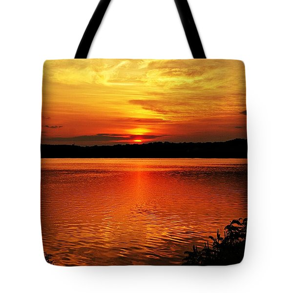 Sunset Xxiii Tote Bag by Joe Faherty
