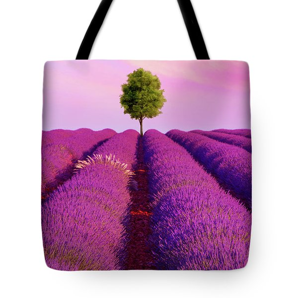 Sunsets Are Purple Tote Bag