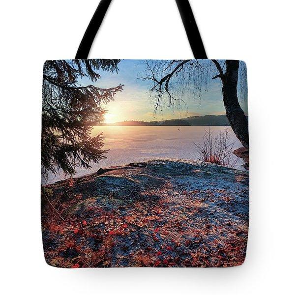 Sunsets Creates Magic Tote Bag