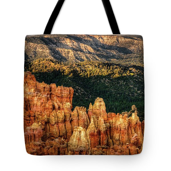 Sunsets In The Canyon Tote Bag by Rebecca Hiatt