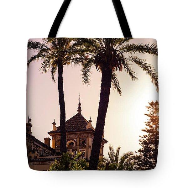 Sunsets Of Seville  Tote Bag