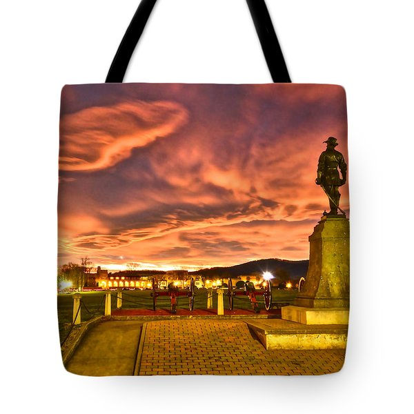 Sunset's Veil Tote Bag