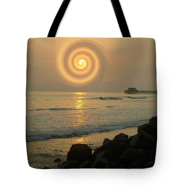 Sunsetswirl Tote Bag
