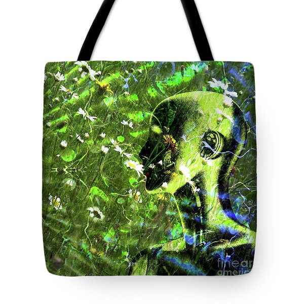 Tote Bag featuring the photograph Sunshine And Daisies by LemonArt Photography