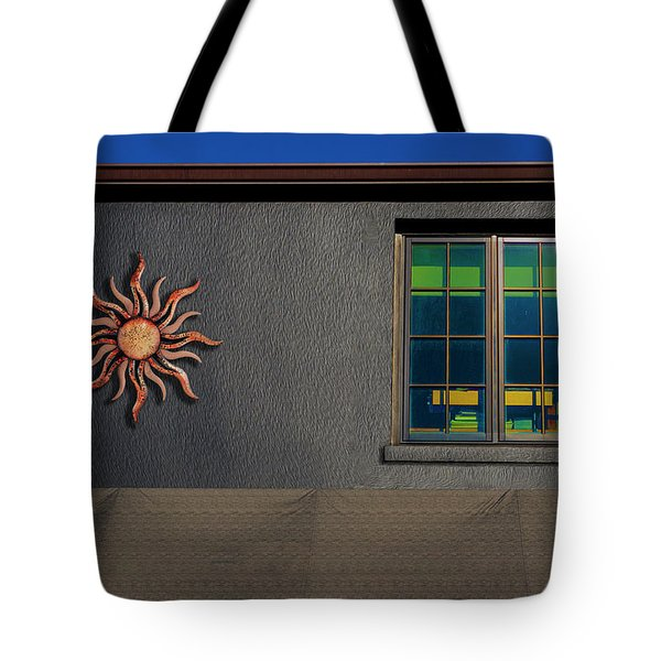 Tote Bag featuring the photograph Sunshine And Darkness by Paul Wear