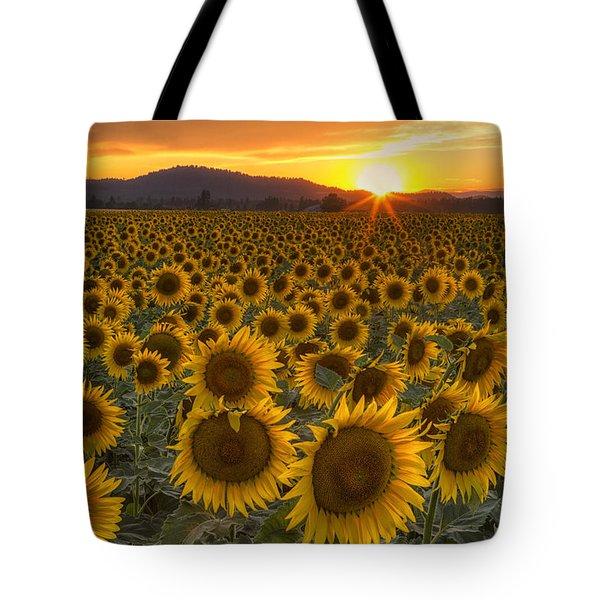 Sunshine And Happiness Tote Bag