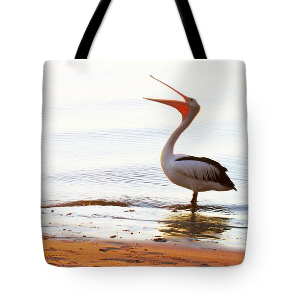 Sunshine Coast Pelican Tote Bag