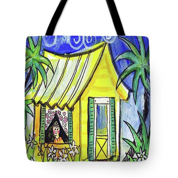 Sunshine Cottage Tote Bag