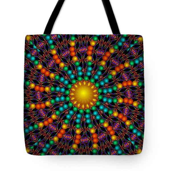 Tote Bag featuring the digital art Sunshine Daydream by Robert Orinski