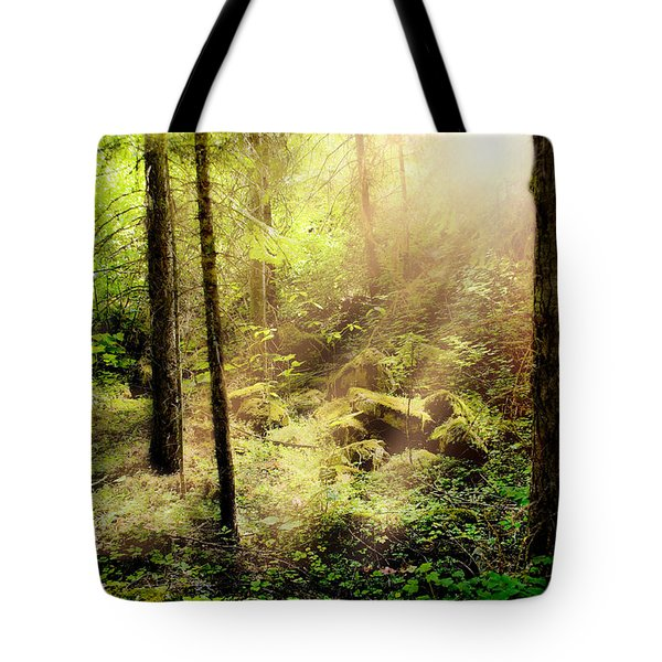 Sunshine From Above Tote Bag
