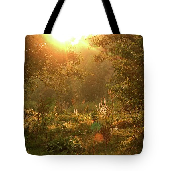 Sunshine In The Meadow Tote Bag