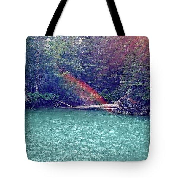 Sunshine Lagoon Tote Bag