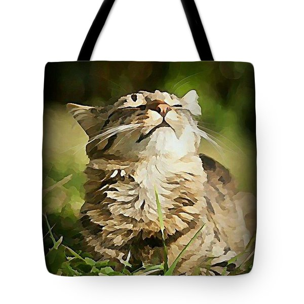 Sunshine Purrfection Tote Bag