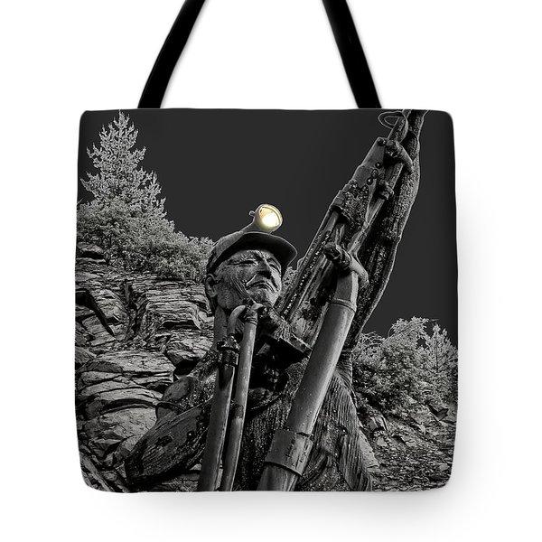 Sunshine Silver Mine Memorial - Kellogg Idaho Tote Bag by Daniel Hagerman