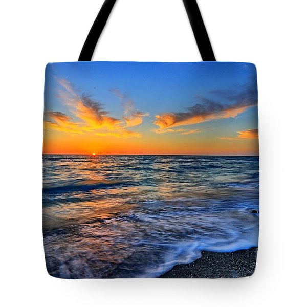 Tote Bag featuring the photograph Sunshine Skies by Scott Mahon