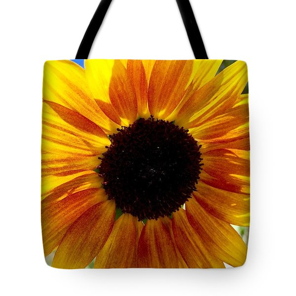 Sunshine Sunflower Tote Bag by Russell Keating